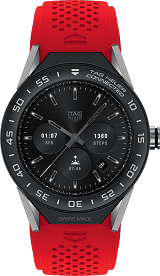 TAG HEUER CONNECTED MODULAR 智能腕錶 SBF8A8001.11FT6080